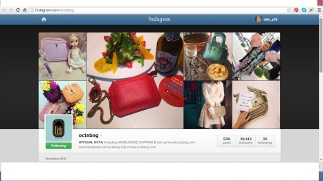 OCTABAG instagram feed