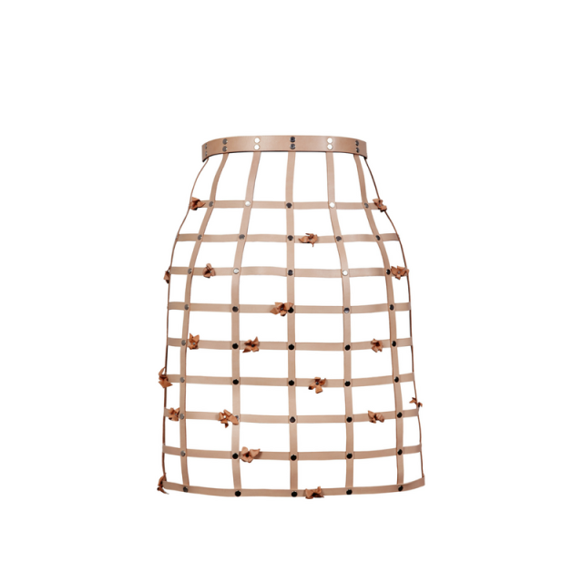 The Birdcage Skirt w_flowers